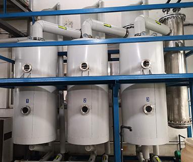三效蒸发器使用现场