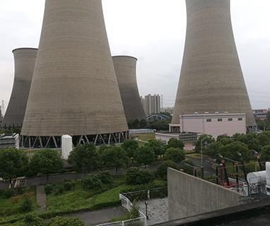张家港华兴电力有限公司化学水处理现场