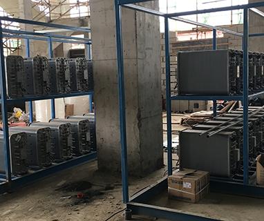 江西东方日升新能源科技有限公司80t/h超纯水工程安装现场