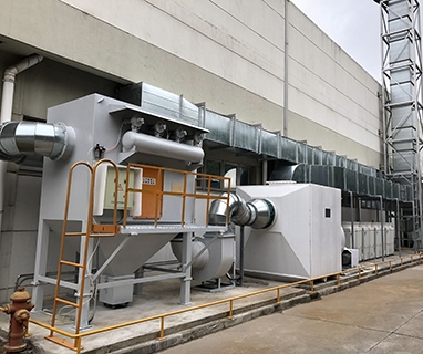 江西无锡富士电子废气工程
