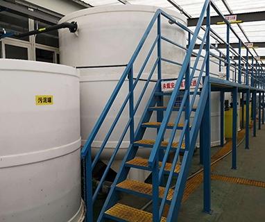 金轮股份海门市森达装饰材料有限公司生产尾水零排放工程